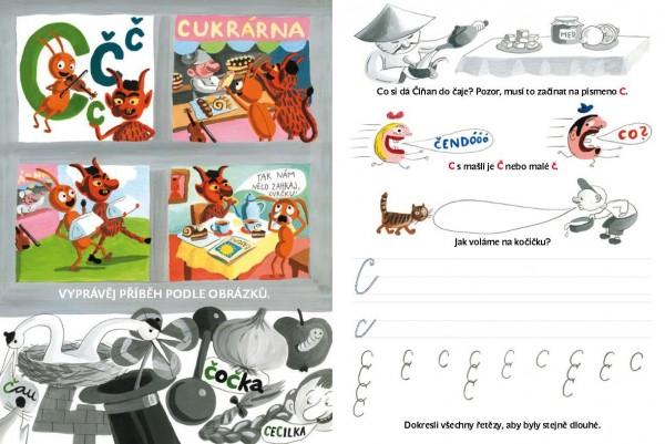 Přečtěte si více o knize abecedník a prohlédněte si ukázku z