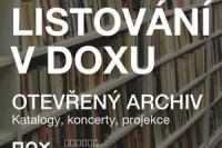 Listování v Doxu