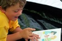 Čtení pro děti - ilustrační