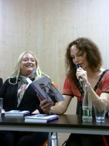 Alice Clayton a Sára Saudková