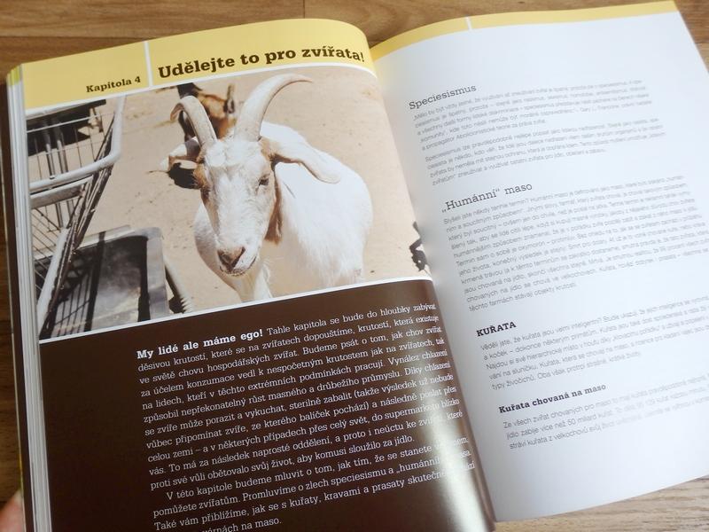 Veganská kuchyně – kapitola Udělejte to pro zvířata