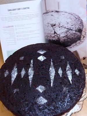 čokoládový dort s cuketou