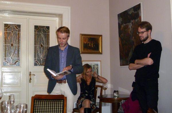 Ladislav Zibura se svou knihou