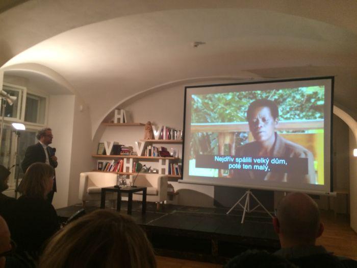 Pan Šmok a film o genocidě ve Rwandě