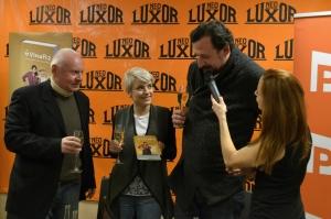 Herci i autor popřáli knize Vinaři 2 spoustu úspěchů.