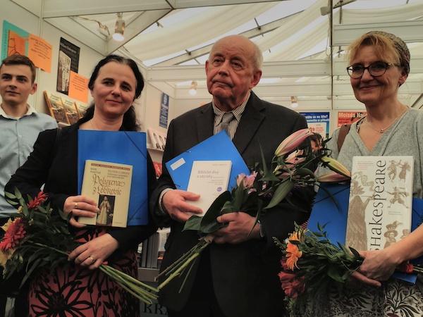 Zleva: Marie Ryantová, Jaroslav Vrbenský, Renáta Fučíková