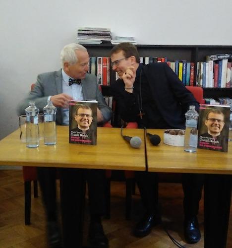prof. MUDr. Jan Pirk a Tomáš Holub