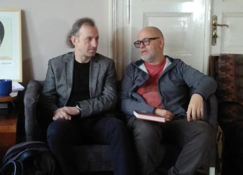 zleva Martin Vopěnka, Aleš Palán