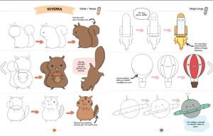 Naucte se kreslit roztomile obrazky 1