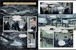 Historie ceskeho a ceskoslovenskeho letectvi v komiksu