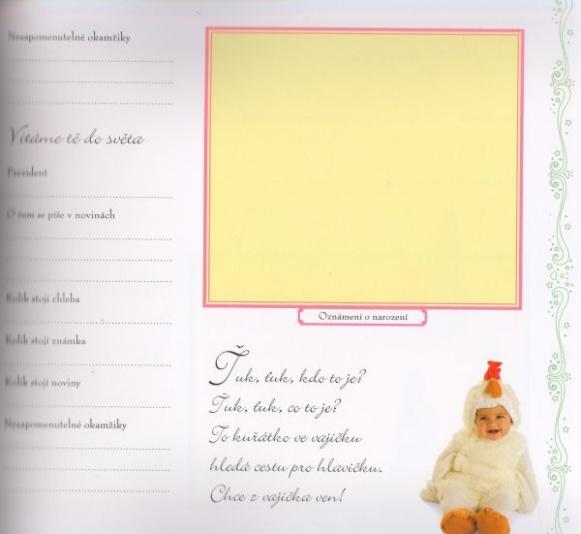 95233beda82 Tip na knihu  Naše děťátko