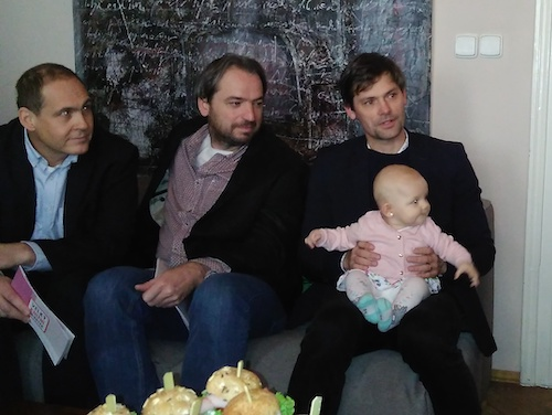 zleva: Jan Pergler, Jan Dražan, Marek Hilšer