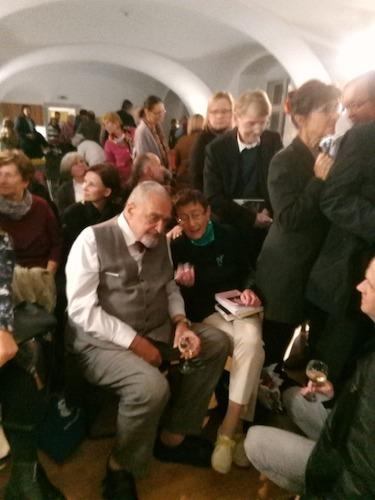 Jiřina Šiklová a Karel Schwarzenberg