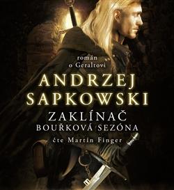 Bouřková sezóna - obal audioknihy