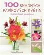 kniha100 snadných papírových květin